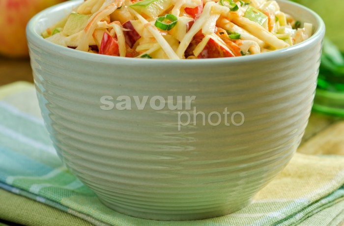 Apple Coleslaw (vertical)