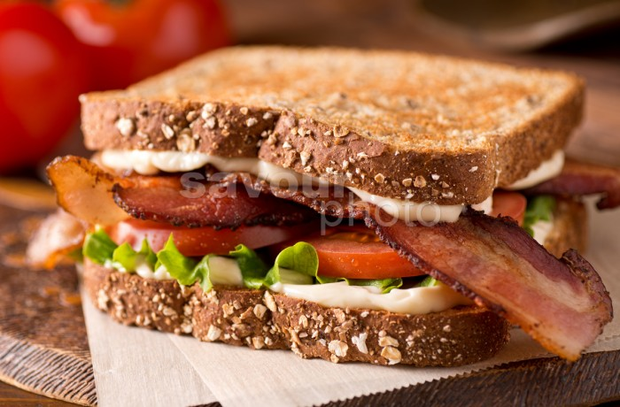 Bacon, Lettuce, and Tomato (BLT)