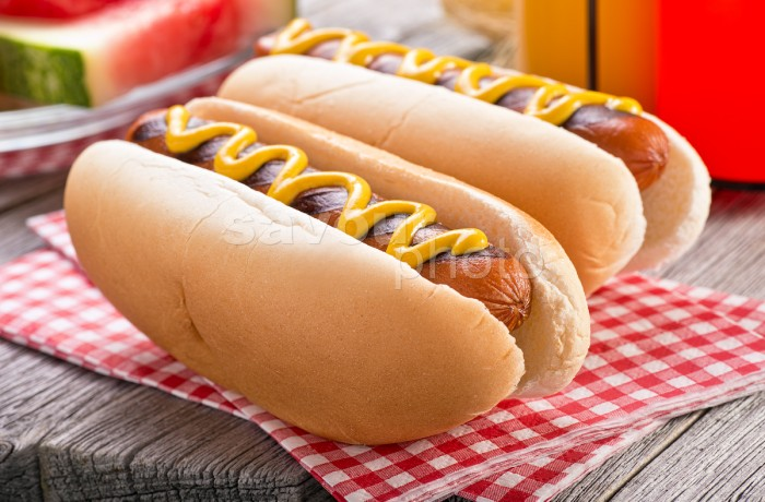 Barbecued Hot Dogs