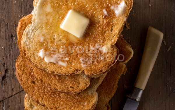 Buttered Toast (vertical)