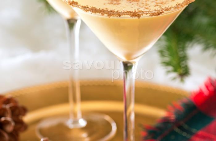 Eggnog Martini (vertical)