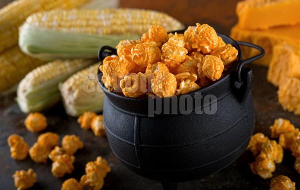 Cheddar Cheese Kettle Corn Popcorn