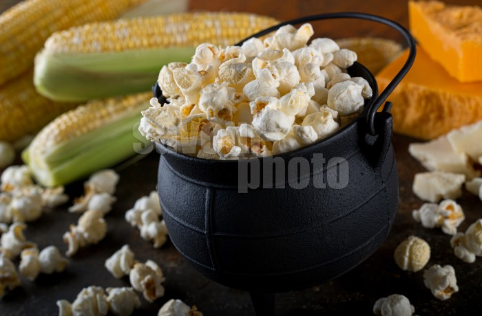 White Cheddar Kettle Corn Popcorn