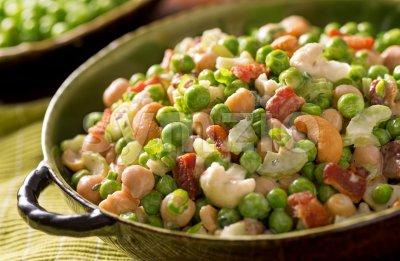 Pea Salad Stock Photo