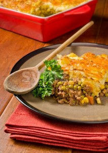 Shepherds Pie Stock Photo