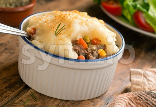 Shepherd's Pie Stock Photo