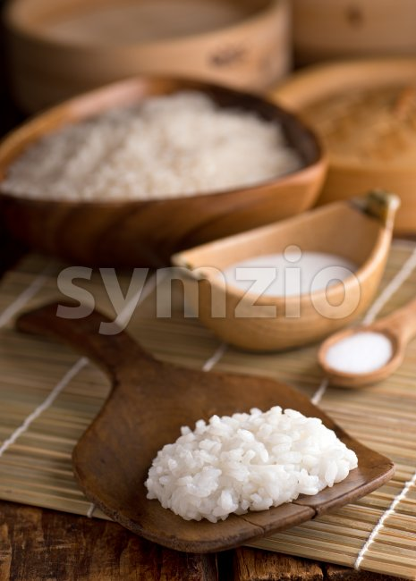 Sticky Rice Stock Photo