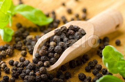 Black Pepper Stock Photo