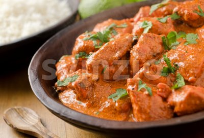 Butter Chicken Stock Photo