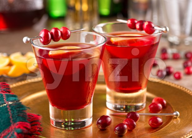 Cranberry Cocktail Stock Photo