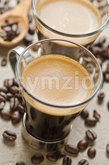 Espresso Coffee Stock Photo