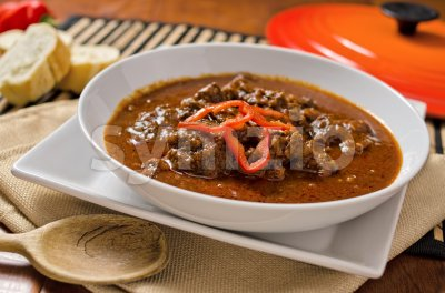 Hungarian Goulash Stock Photo