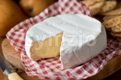 Brie Stock Photo