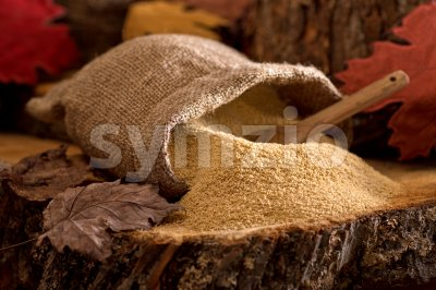 Maple Sugar Stock Photo
