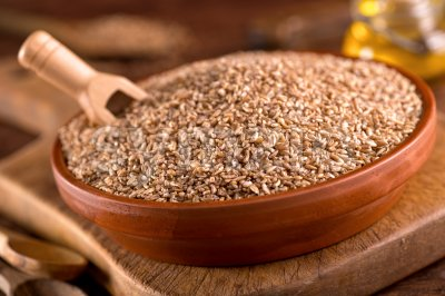 Bulgar Wheat Stock Photo
